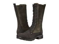 Woolrich Santa Fe Black Crackle Leather Women's Boots