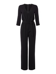 Therapy Sibbi Cut Out Detail Jumpsuit Black