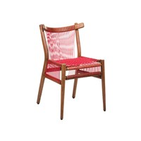H Furniture Loom Chair Red