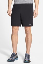 Patagonia 'Nine Trails' Stretch Woven Running Shorts Black