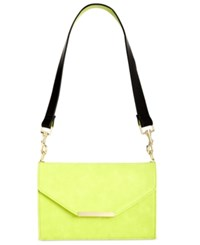 Inc International Concepts Yvonn Crossbody With Interchangeable Straps Only At Macy's Citron