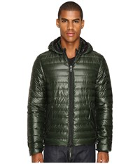 Duvetica Troilo Quilted Down Hooded Jacket Foresta Men's Coat Black