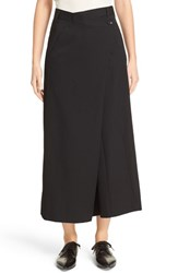 Junya Watanabe Women's Wide Leg Crop Wool Pants