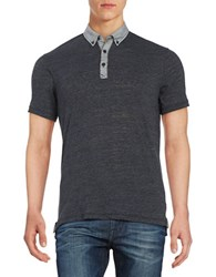 Howe Colorblocked Polo Blue