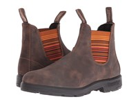 Blundstone 1348 Rustic Brown Stripes Boots