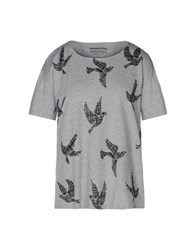 People Tree Topwear T Shirts Women Grey