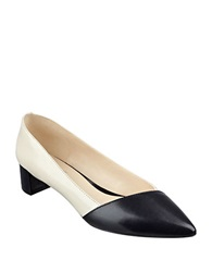 Nine West Edleson Pointed Toe Pumps Off White Black