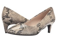 Cole Haan Amelia Grand Pump 45Mm Roccia Snake Print Women's Shoes Animal Print