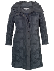 Chesca Quilted Bonfire Coat Steel