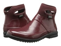 Bogs Seattle Solid Mid Raisin Women's Rain Boots Brown
