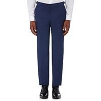 Burberry Xo Barneys New York Men's Wool Mohair Tuxedo Trousers Navy