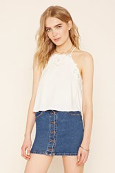 Forever 21 Contemporary Embroidered Cami