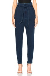 Ag Adriano Goldschmied Pentra Pants In Blue