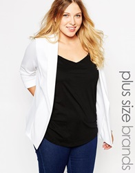 New Look Inspire Blazer White