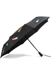 Moschino Printed Umbrella Black
