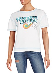 Wildfox Couture Hangover Central Graphic Top Jacuzzi