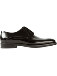 Fendi Laceless Derby Shoes Black