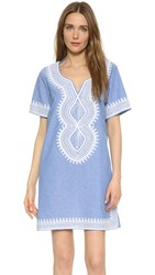 Scotch And Soda Maison Scotch Summer Caftan Blue