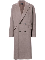 G.V.G.V. 'Raw Edge' Coat Brown
