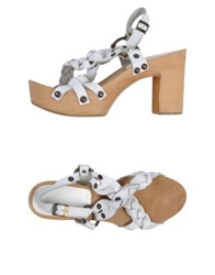 Gianni Barbato Sandals White
