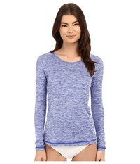Rip Curl Search Tee Long Sleeve Blue Women's Swimwear