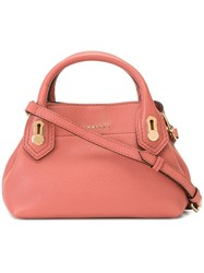 Burberry Classic Tote Pink Purple