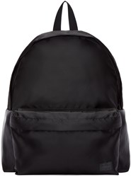 Porter Black Satin Focus Day Pack Backpack