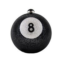 Judith Leiber Couture Eight Ball Multi