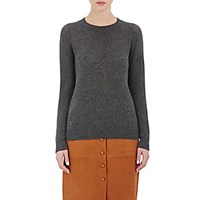 Barneys New York Women's Cashmere Loose Knit Sweater Dark Grey