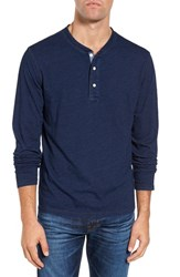 Faherty Men's Long Sleeve Henley