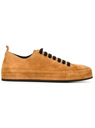 Ann Demeulemeester Blanche Lace Up Sneakers Brown