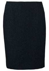 Gant Pencil Skirt Navy Dark Blue