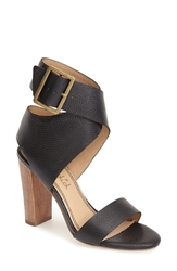 Splendid 'Jayla' Ankle Cuff Sandal Women Black Leather