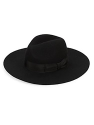 Gottex Laurent Wool Wide Brim Hat Black
