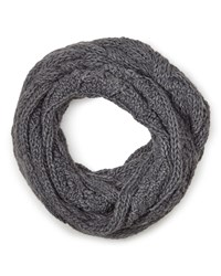 East Chunky Knitted Snood Grey