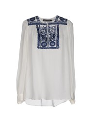 Antik Batik Shirts Blouses Women White