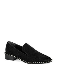 Adrianna Papell Prince Textured Loafers Black