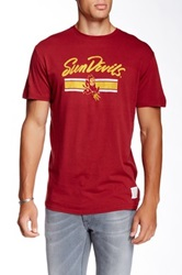 Original Retro Brand Arizona State University Sun Devils Tee Red