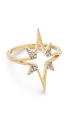 Elizabeth And James Astral Ring Gold