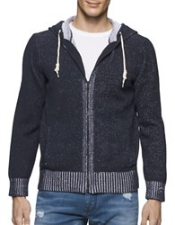 Calvin Klein Jeans Plated Jersey Hoodie Classic Navy