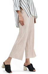 Topshop Women's Pleated Crop Trousers