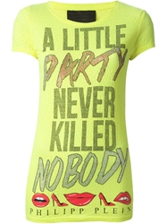 Philipp Plein 'Party' T Shirt White
