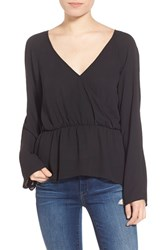 Women's Leith Surplice Ruffle Top
