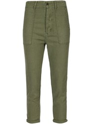 The Great 'The Slouch Armies' Trousers Green