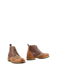 Dino Draghi Ankle Boots Camel