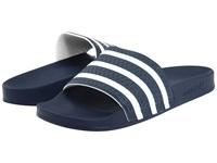 Adidas Adilette New Navy White Shoes