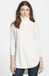 Chelsea 28 Women's Chelsea28 Turtleneck Sweater White Snow
