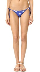 Wildfox Couture Stars Away Reversible Bikini Bottoms Multi