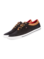 Tommy Hilfiger Winston Lace Up Casual Trainers Midnight