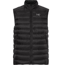 Arc'teryx Cerium Lt Quilted Hell Down Gilet Black